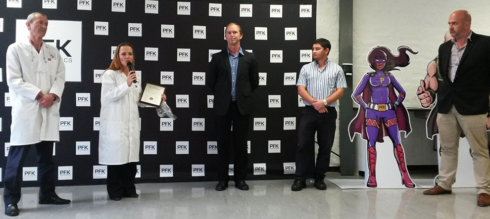 Pfk Gm Supplier Quality Excellence Award